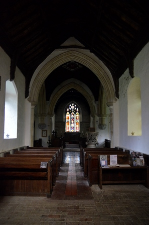 Claydon interior