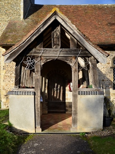 Great Blakenham porch