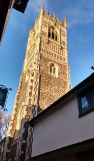 Ipswich St Lawrence tower