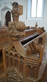 Fressingfield bench end 4