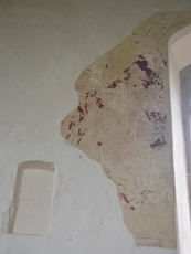 Ilketshall St Andrew wall painting 3
