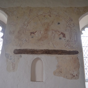 Ilketshall St Andrew wall painting