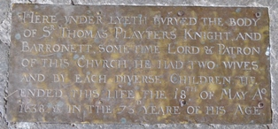Sotterley plaque