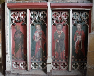 Sotterley rood screen 2