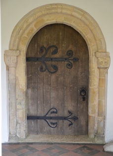 St Margaret South Elmham door