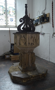 St Margaret South Elmham font