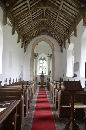 St Margaret South Elmham interior 2