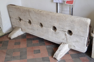 St Margaret South Elmham stocks