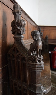Carlton bench end