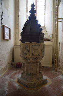 Creeting St Mary font