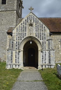 Creeting St Mary porch