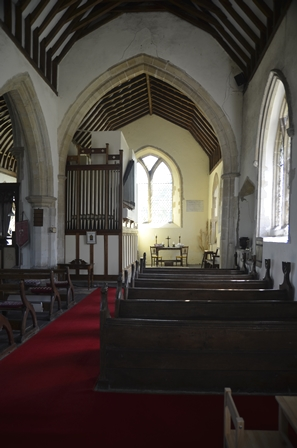 Eriswell aisle