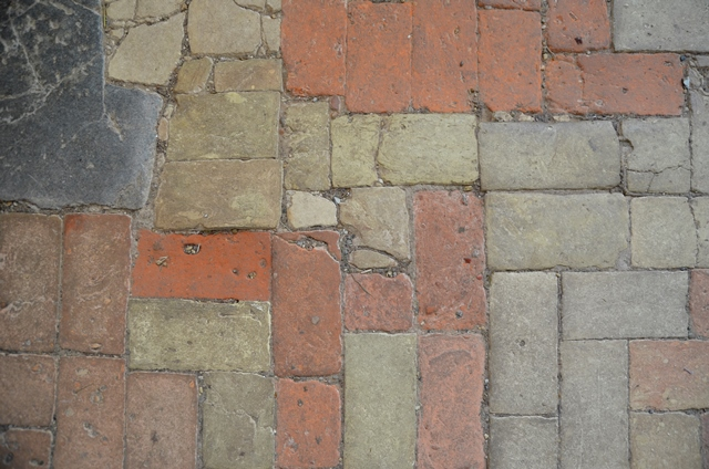Blythburgh church floor