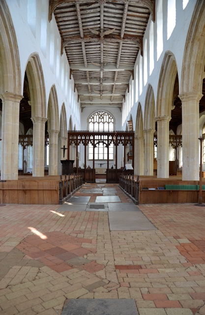 Blythburgh church interior
