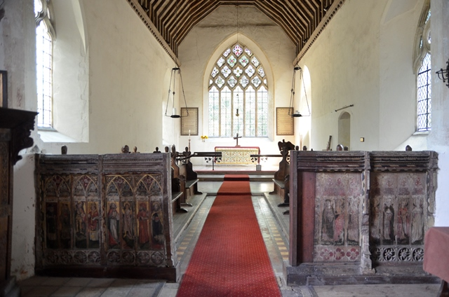 Westhall rood screen