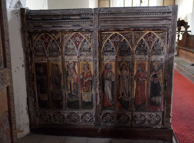 Westhall rood screen 1