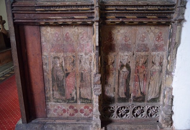 Westhall rood screen 2
